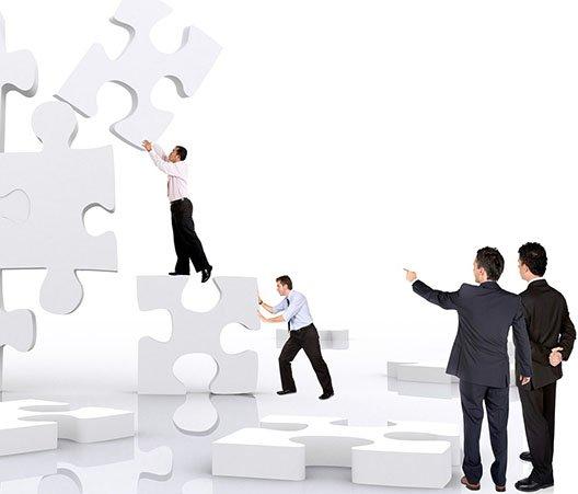capacitación empresarial cancun team rompecabezas curso