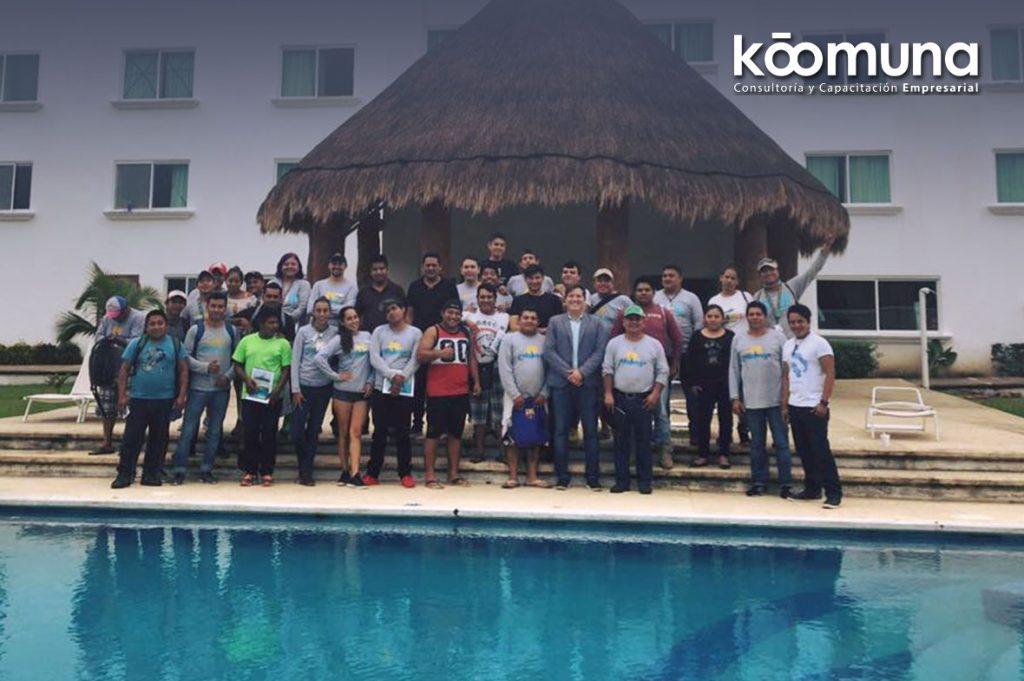capacitación empresarial Koomuna cancun todos curso