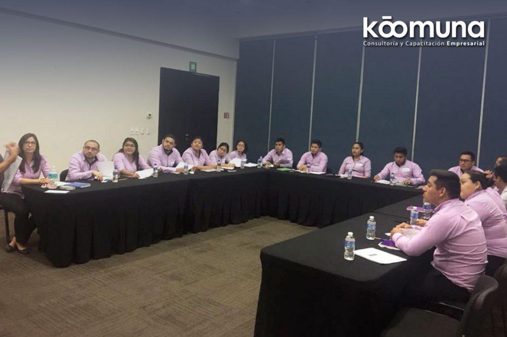 capacitación empresarial Koomuna cancun consultoria curso